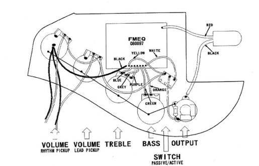 Circuito De Bajo Jazz Bass : Modificaciones fender jazz bass marcus miller signature