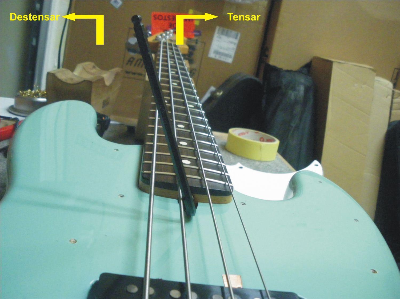 Ajustando un bajo elctrico  Bajos y Bajistas