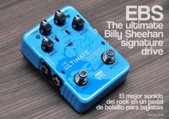 EBS The Ultimate Billy Sheehan Signature Drive