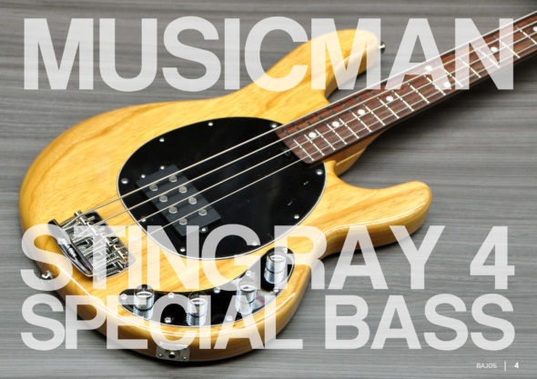 MusicMan Stingray Special