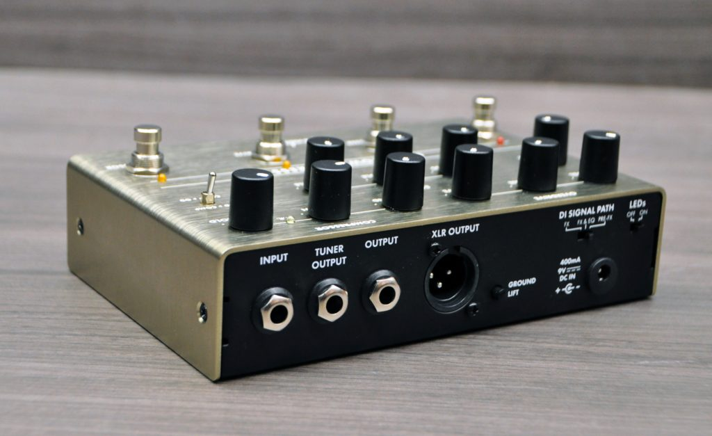 Downtown Express Preamp controles