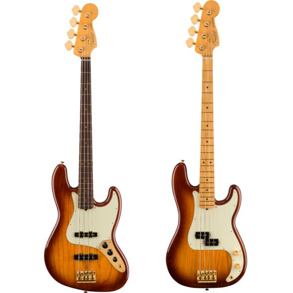Precision y Jazz Bass 75 Aniversario 2021