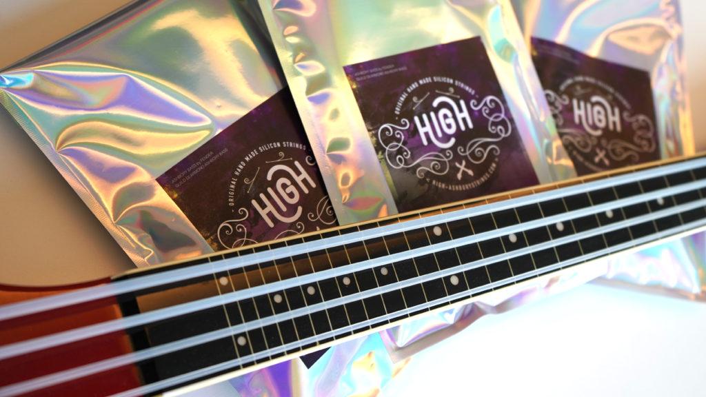 Cuerdas HIGH para bajo Ashbory